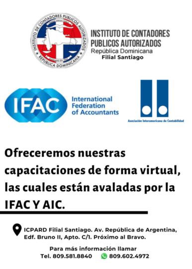 Cursos avalados por la ICAF y AIC